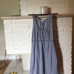Blue strip dress